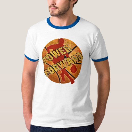 Power Forward Basketball Tee Shirt