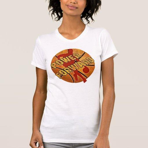 Power Forward Basketball Tshirts