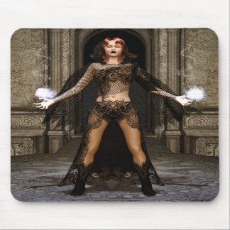 Power From Within Gothic Fantasy Art Mouse Pad