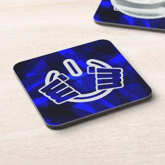 Power Hands, Seize Power! Beverage Coaster