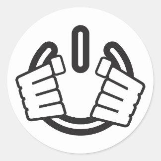 Power Hands, Seize Power! Classic Round Sticker