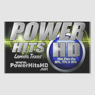 Power Hits HD Sticker