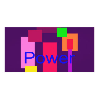 Power Imperial Purple Picture Card