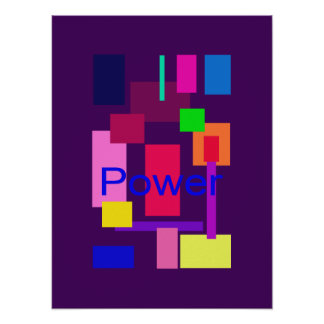 Power Imperial Purple Poster