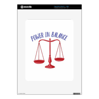 Power In Balance Skin For iPad