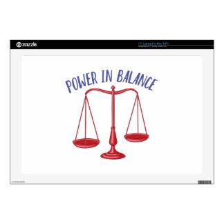 Power In Balance Skins For Laptops