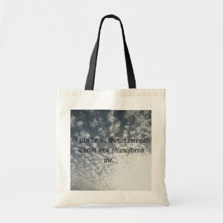 Power in Christ tote Budget Tote Bag