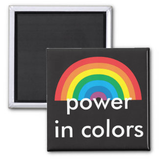 power in colors magnet