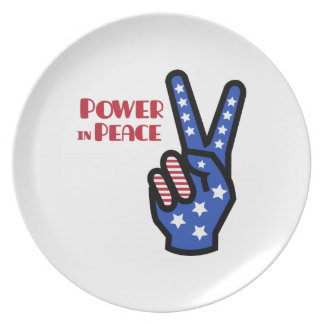 Power In Peace Plates