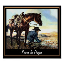 Power In Prayer Poster