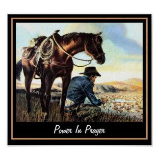 Power In Prayer Print