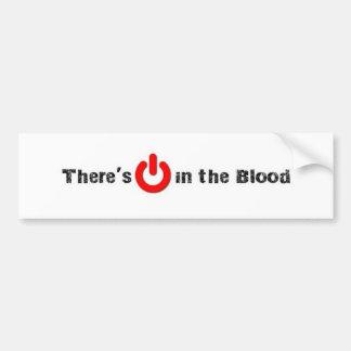 POWER IN THE BLOOD - Bumper Sticker