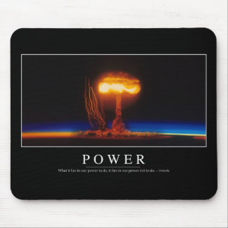 Power: Inspirational Quote Mouse Pad