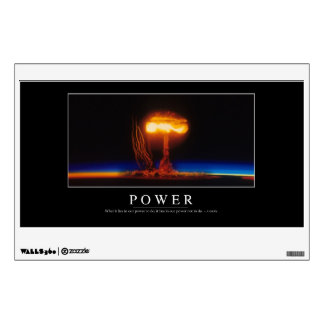 Power: Inspirational Quote Wall Decal
