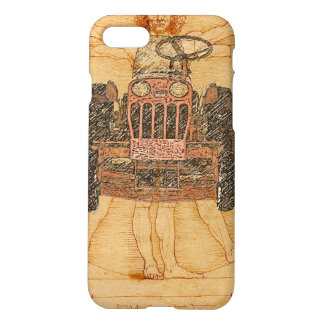 Power King Renaissance Man iPhone iPhone 8/7 Case