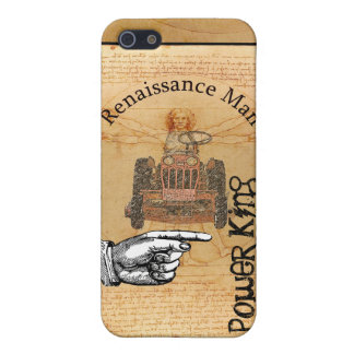 Power King Renaissance Man iPhone Cover For iPhone 5