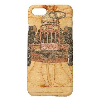 Power King Renaissance Man iPhone iPhone 8/7 Case