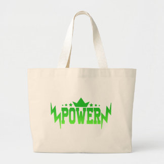POWER LARGE TOTE BAG