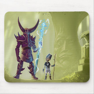 Power level mouse pad