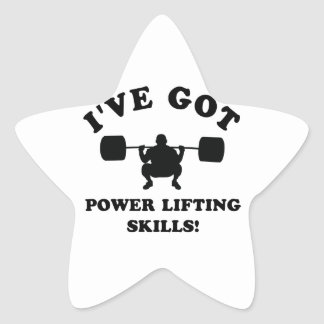 power lift gift items star stickers