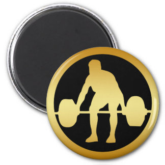 POWER LIFTER 2 INCH ROUND MAGNET