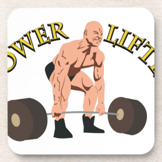 Power Lifter Drink Coaster