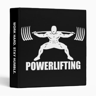 """Power lifting"" Squat Motivational Binder"