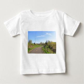 Power line park bike path, walk route baby T-Shirt