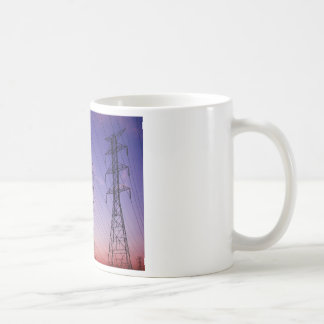 Power line triple coffee mug