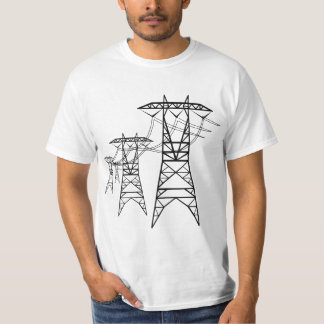 Power LInes T Shirt