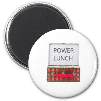 POWER LUNCH ...BOX DESIGN FRIDGE MAGNETS