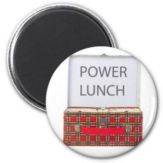 POWER LUNCH ...BOX DESIGN MAGNET