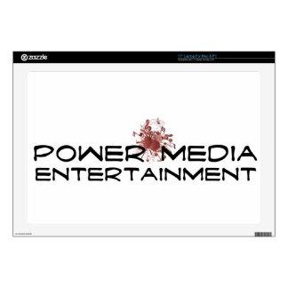 "power media entertainment 17"" laptop skin"