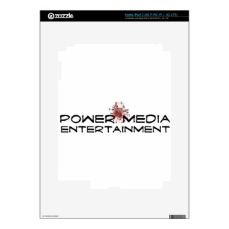 power media entertainment decal for iPad 3