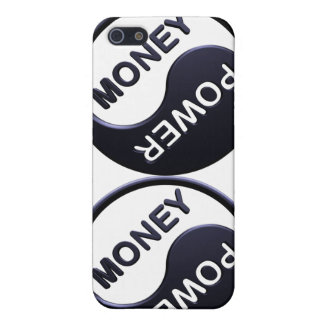 Power&Money (in Black) iPhone 5/5S Covers
