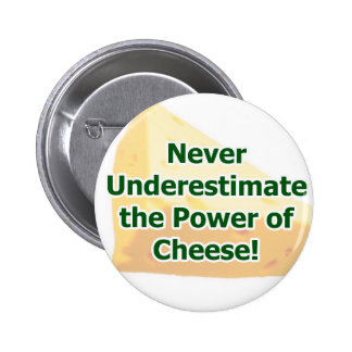 Power of Cheese Button