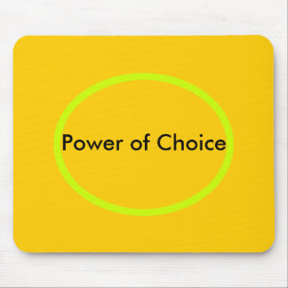 Power of Choice The MUSEUM Zazzle Gifts Mouse Pad