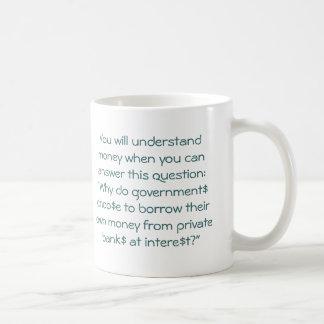Power of enslavement coffee mug