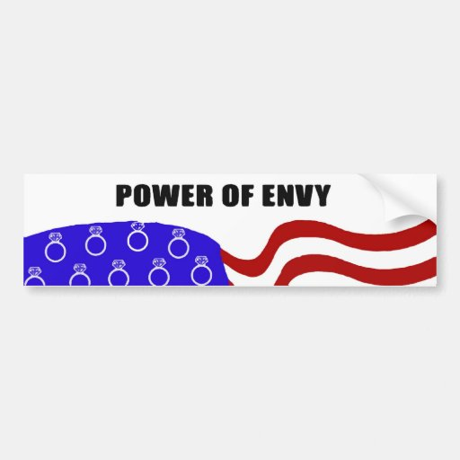 Power of Envy Bumper Stickers