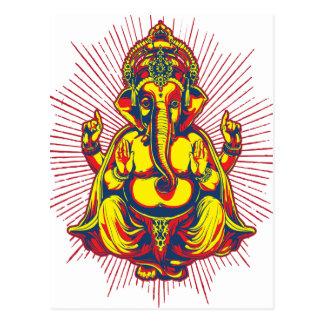 Power of Ganesh Postcard