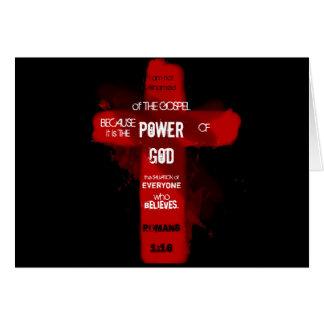 Power of God Card