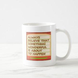 Power of intention n positive thinking coffee mug