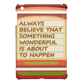 Power of intention n positive thinking case for the iPad mini