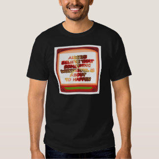 Power of intention n positive thinking t shirt