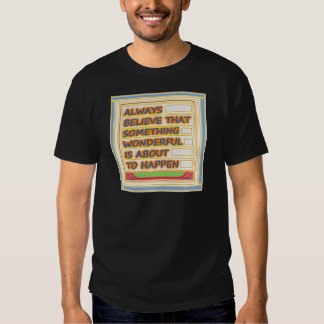 Power of intention n positive thinking tshirt