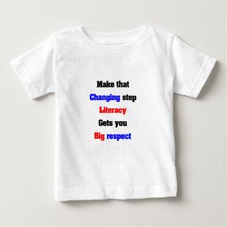 Power of literacy baby T-Shirt