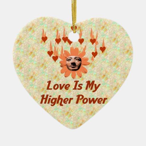 Power Of Love Ceramic Ornament