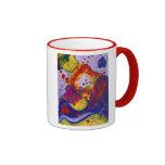 Power of Love – Crimson & Iris Hearts Coffee Mug