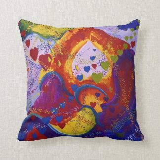 Power of Love – Crimson & Iris Hearts Pillow