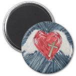 Power of Love! Fridge Magnet